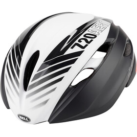 Bell Z20 Aero MIPS Casco, matte/gloss black/white/crimson